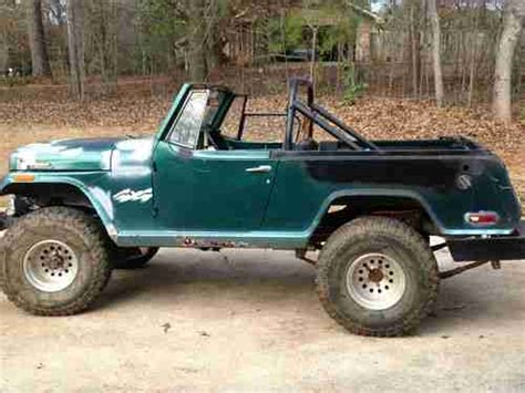 jeep jeepster lifted sell used jeepster commando 4wd chevy 350 lifted in