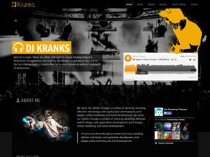 Free One Page Website Templates 119 Free Css Dj Website Design Templates