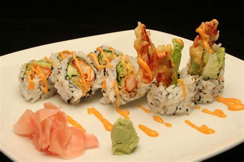 delicious japanese cuisine sushi sashimi tempura teriyaki