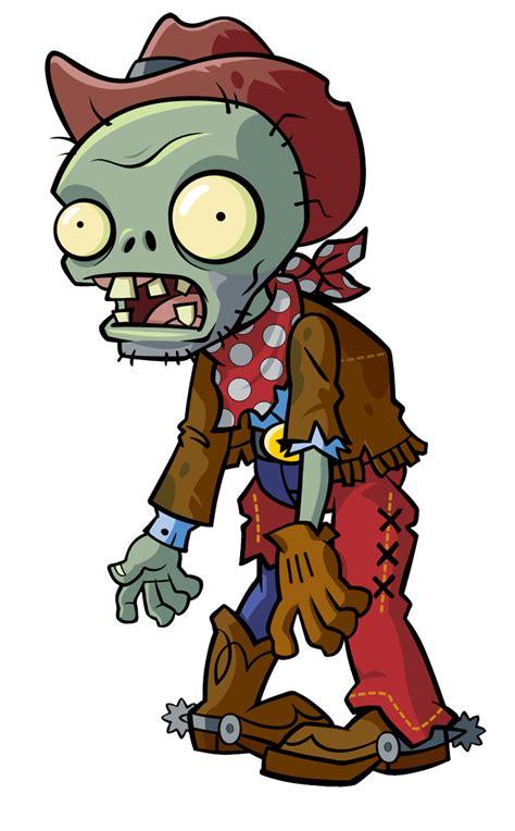 imagenes geniales de zombies pvziat cowboyzombiecopy png 744 215 1200 plantas y