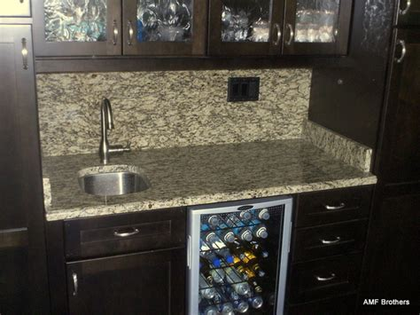 santa cecilia with backsplash contemporary