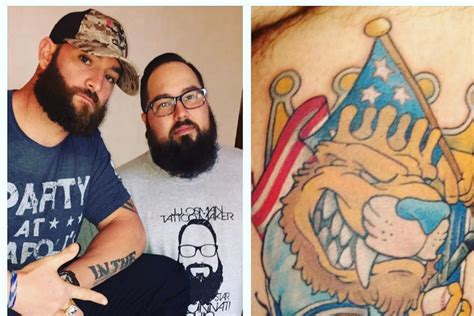 jonny gomes tattoo jonny gomes gets a that makes him forever royal
