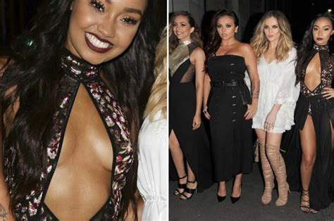 lil mix and tulisa mp little mix star leigh anne pinnock flashes entire chest as