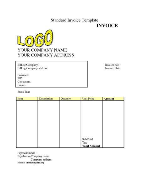 free invoice template invoice maker freshbooks