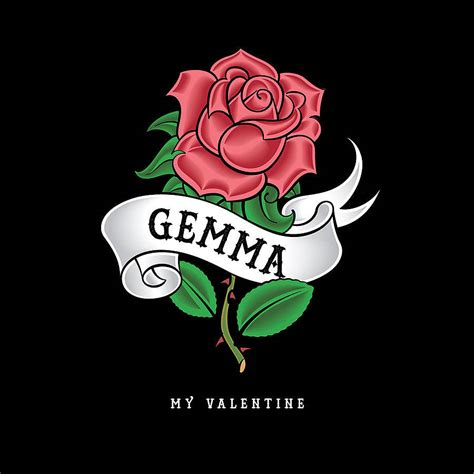 valentine tattoo s card by ink notonthehighstreet