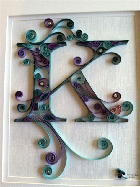 typography quilling tutorial 25 unique quilling letters ideas on pinterest quiling