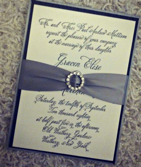 Where Do You Get Wedding Invitations by Chic Ink Bling For Wedding Invitations Chic Ink