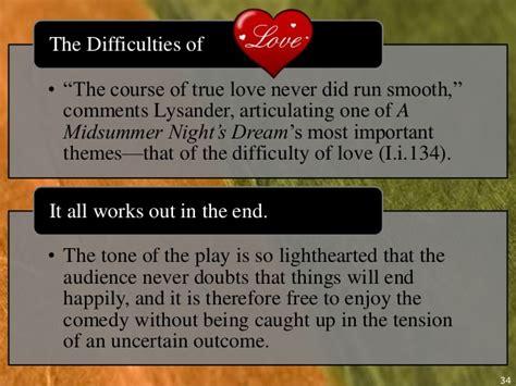 love themes in a midsummer night s dream midsummer nightsdreowerpointppt