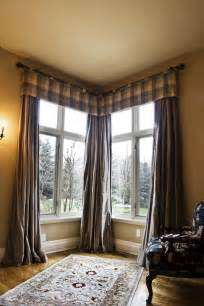 Curtains Corner Windows Ideas Corner Windows With Masculine Window Treatment Interior Design Window Treatments Curtain