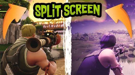 will fortnite be split screen split screen fortnite battle royale fails ep 1