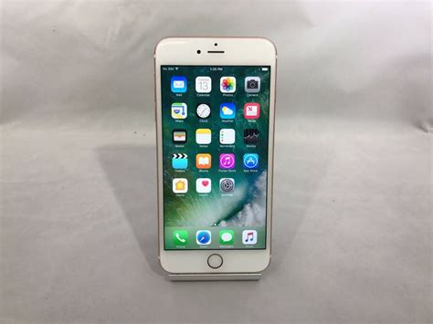 apple iphone 6s plus 64gb gold unlocked fair 888462501941 ebay