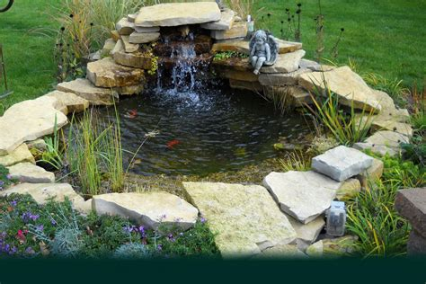 Backyard Pond Images by Waterless Ponds Waterfalls Aquascapes Designs Decosee