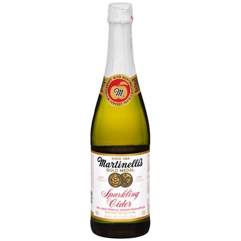 Supplier Gloria By Aple martinelli s gold medal 174 sparkling cider 750 ml from smart instacart