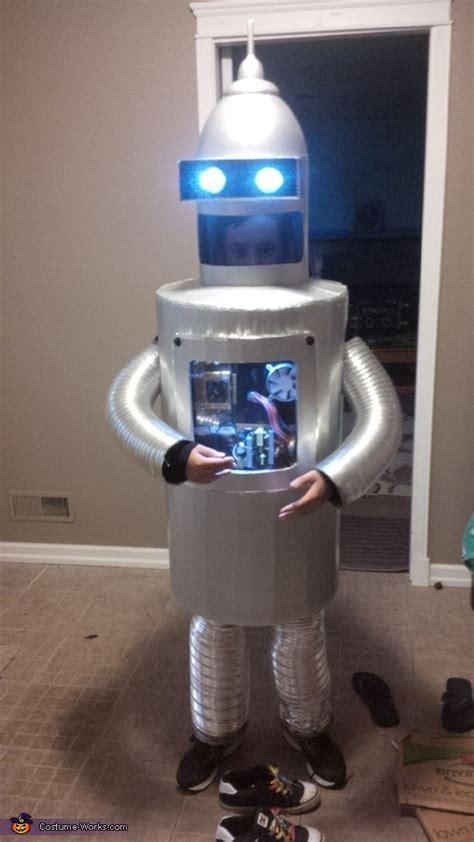 diy bender robot costume