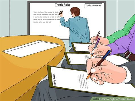 how to fight a traffic light ticket how to fight a traffic ticket with pictures wikihow