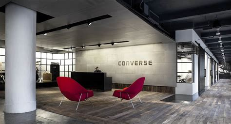 converse corporate headquarters showrooms rogers marvel architects