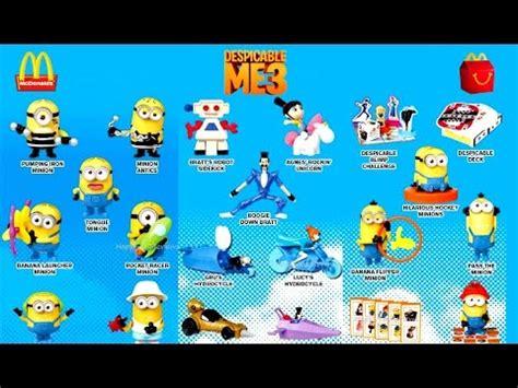 Mainan Happy Meal Mcdonalds Minion jual mainan minion mcd mainan anak perempuan