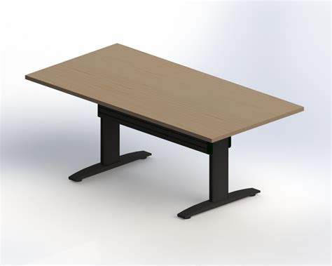 Adjustable Height Meeting Table Newheights Rectanglular Height Adjustable Conference Table
