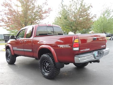 2003 toyota tundra bed size 2003 toyota tundra sr5 4dr access cab 4x4 only 92k