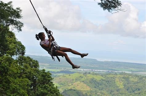 Enjoy One Of The Fastest Canopy Tours In Osa South