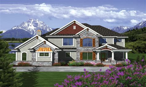 two story craftsman style homes exterior colors 2 story