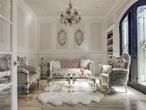 glamorous living rooms 45 beautifully decorated living rooms pictures