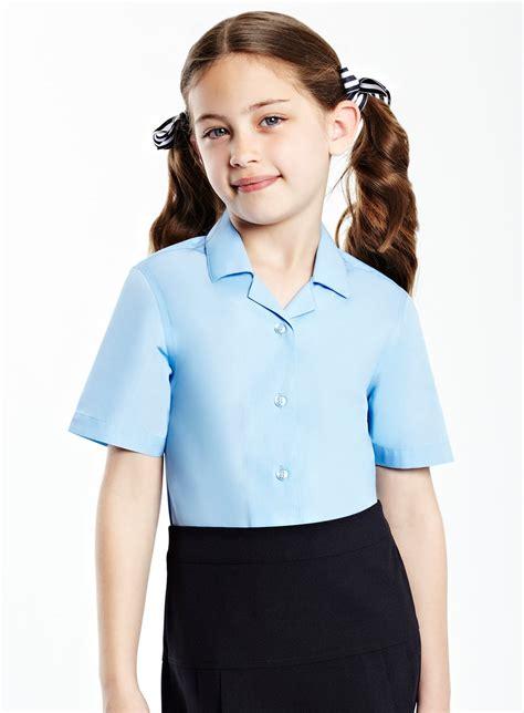 Blouse Gil formal school blouse powerstitch
