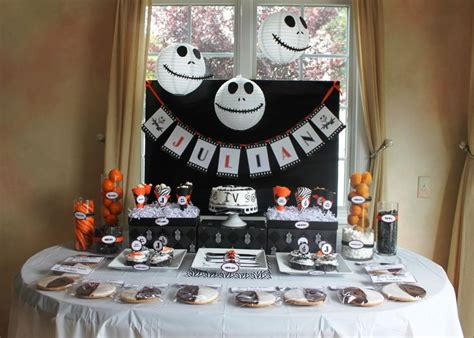 nightmare before christmas party parties pinterest