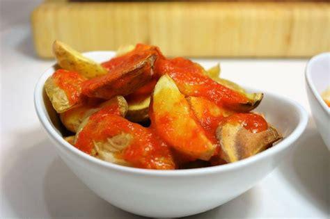 cocina patatas patatas bravas al horno