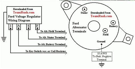 alternator questions identifying     externally regulated alternator ihmud forum
