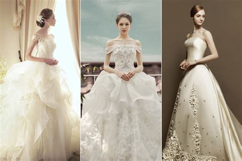 dreamy sophistication top  korean wedding dress brands  love praise wedding