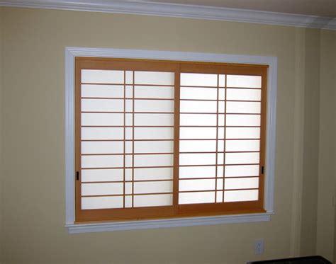 shoji window treatment shoji screens asian bedroom san francisco by