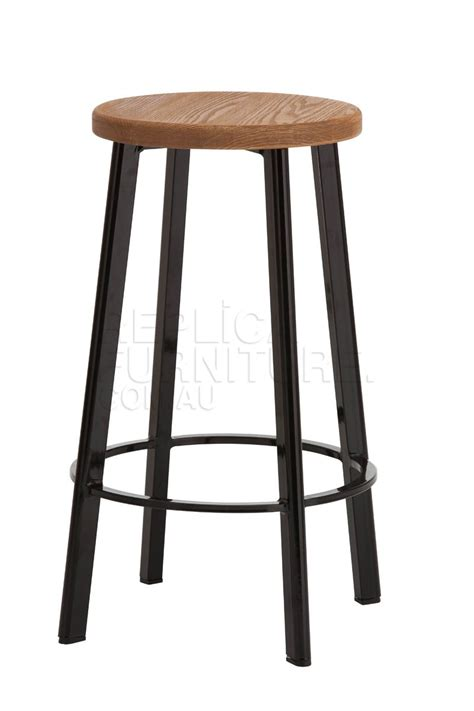 black stool replica deja vu counter stool black with wood top bar stools