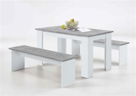 gray dining table with bench durban white and grey dining table with bench seats sale