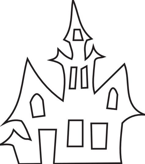 printable haunted house outline clipartist net 187 clip art 187 haunted house black white art