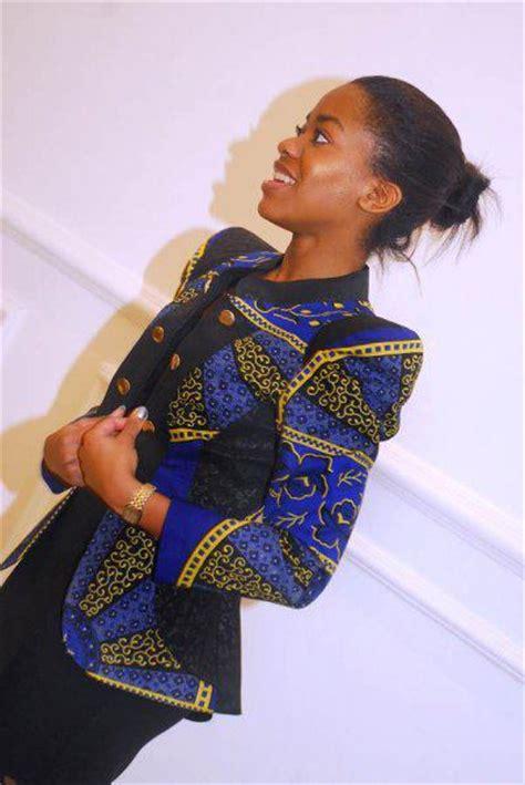 latest chitenge wear kakki chitenge blazers jackets