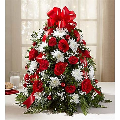 holiday christmas tree storefront flowers shop  day delivery  miramar hollywood