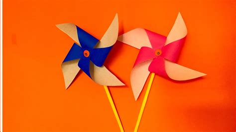 How To Make A Paper Pinwheel That Spins - how to make a paper pinwheel that spins 28 images how