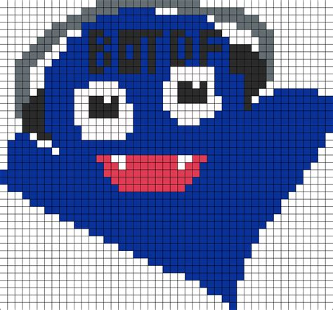 big perler bead patterns large iggy boo perler perler bead pattern bead sprites