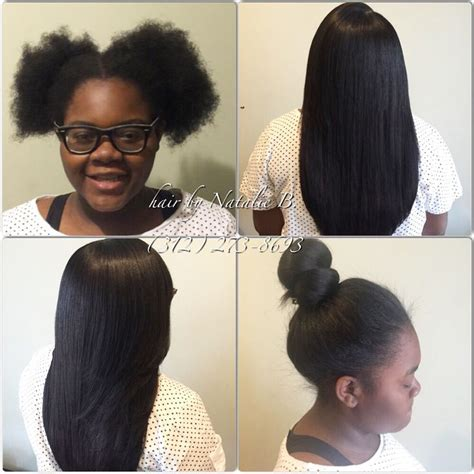 hairstyles for 13 year olds with weave 17 best images about natural to sew in on pinterest