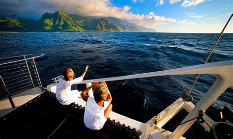 napali coast boat tours south shore kauai boats cheap i read the online reviews and decided