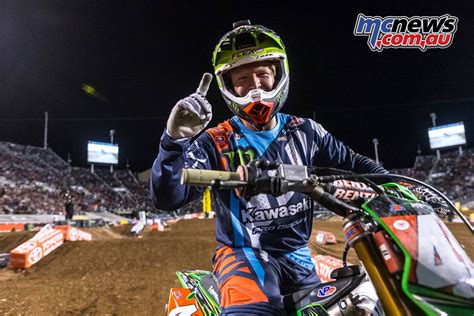 ama motocross classes eli tomac takes ama sx lead chad reed sixth mcnews com au