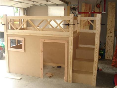 DIY Fire Truck Bunk Bed How To Make Kids Bed Projects