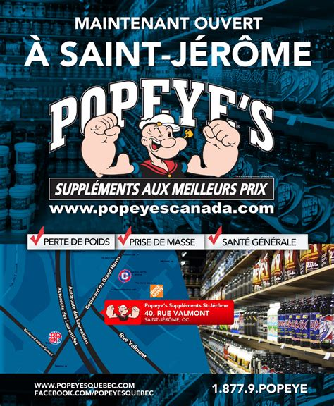 popeye s supplements popeye s suppl 233 ments trois soixante