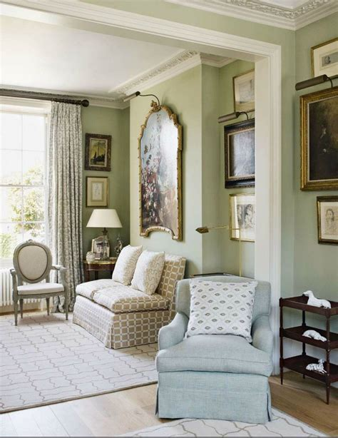 traditional english style living room featured  house