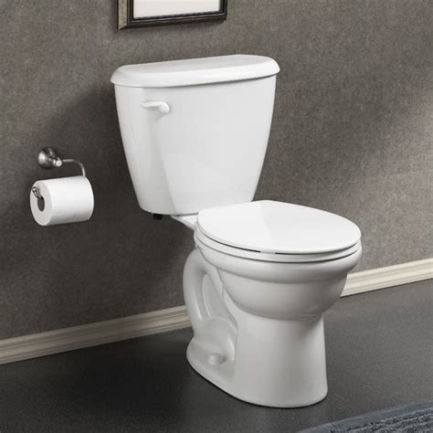 Shop Portfolio 15 98 In W White Flush Mount Light At Lowes American Standard Colony Fitright Toilet 10 Quot Toilets New York By Expressdecor