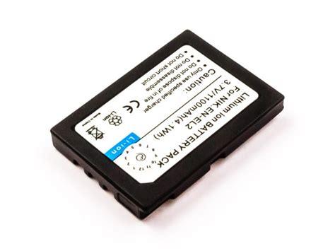 Dijamin Battery Nikon En El2 battery similar nikon en el2 li ion 3 7v 1100mah 4 1wh batterijen accu s opladers vindt