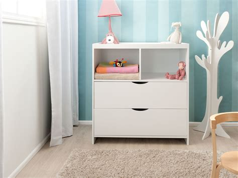 drawers with change table mocka change table and drawer set nursery furniture