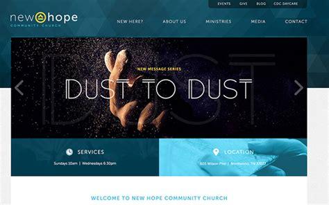 Lovely Buckhead Community Church #10: 04-community-church-website-homepage.jpg