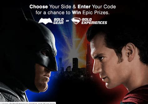 Doritos Sweepstakes 2015 - doritos quot batman v superman dawn of justice quot choose your side sweepstakes sun sweeps